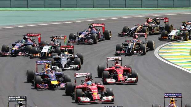 Dirka F1 v Sao Paulu brez koronskih omejitev (foto: Xinhua/STA)