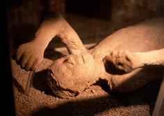 V Pompejih odkrili grobnico z dobro ohranjenim truplom premožnejšega meščana