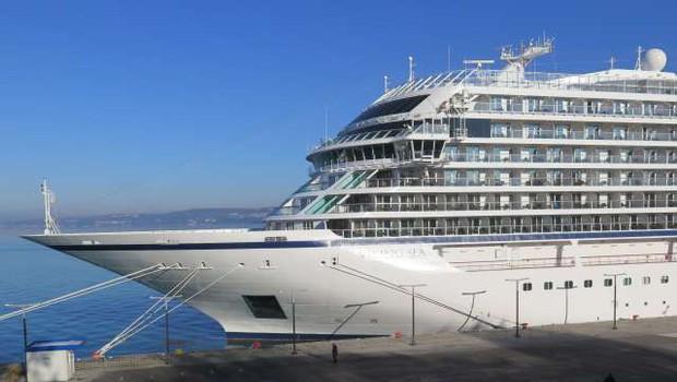 V petek bo Koper obiskala prva potniška ladja po letu 2019 (foto: Mitja Volčanšek/STA)
