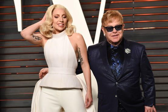 Po enem letu bosta Lady Gaga in Elton John znova sodelovala - poglejte, kaj obljubljata