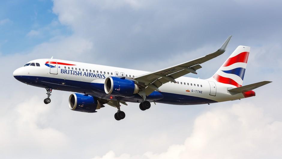 British Airways znova vzpostavil lete med Ljubljano in Londonom (foto: profimedia)