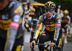 Primož Roglič tudi po osmi etapi dirke po Španiji vodi, Jan Polanc peti