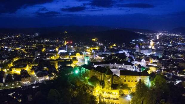 Letošnje Noči v stari Ljubljani ponovno obarvane mednarodno (foto: Anže Malovrh/STA)