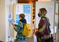 Po predlogu svetovalne skupine šole odprte, v kriznih fazah epidemije širjenje PCT pogojev