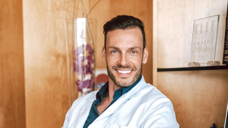 Estetski kirurg Igor Višnjar o tem, da zna biti boleče iskren, vendar ljudje to cenijo in razumejo (foto: Eva Birsa)