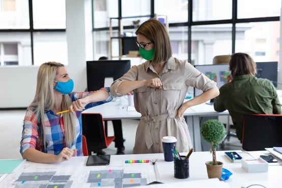 Ali moramo v pisarnah nositi zaščitne maske?