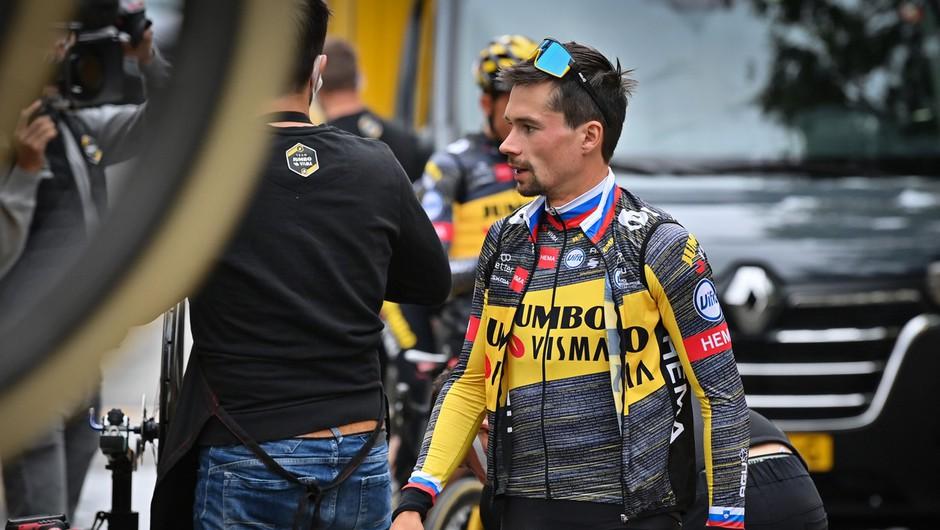 Primož Roglič po 19. etapi še dan bližje tretji zaporedni zmagi na španski pentlji (foto: profimedia)