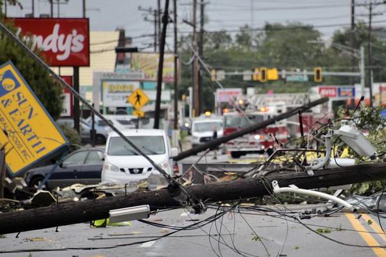 Po hudem razdejanju orkana Ida predsednik Joe Biden obljubil pomoč in spremembe