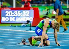 Atlet Luka Janežič na letošnjih OI dosegel dva osebna izida sezone, kar je tisto, kar šteje