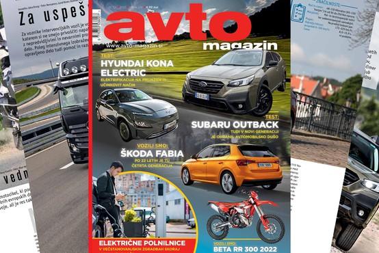 Izšel je novi Avto magazin s testi za Subaru Outback, Hyundai Kona EV ...