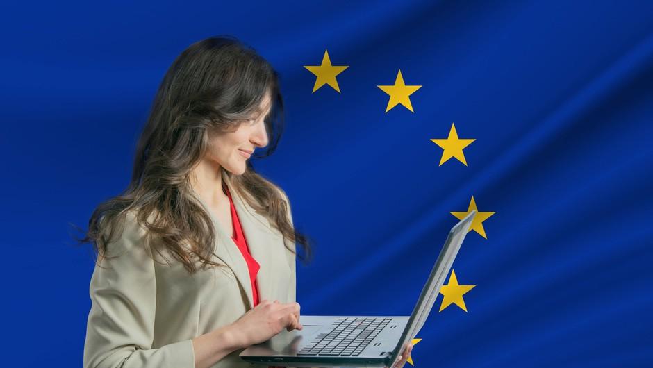 Podatki Eurobarometra kažejo zaupanje Evropejcev v prihodnost unije (foto: profimedia)
