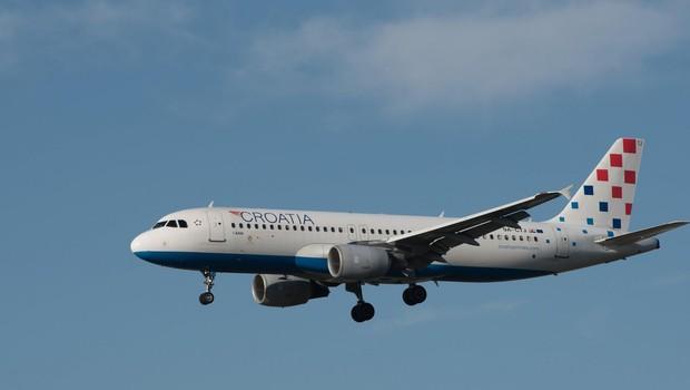 Hrvaški letalski prevoznik Croatia Airlines bi lahko okrepil povezave z brniškim letališčem (foto: profimedia)