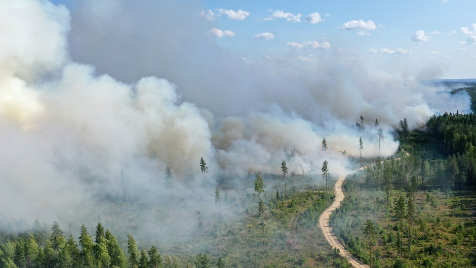 Požarom v Rusiji ni videti konca, letos so uničili območje za pol Nemčije (foto: profimedia)