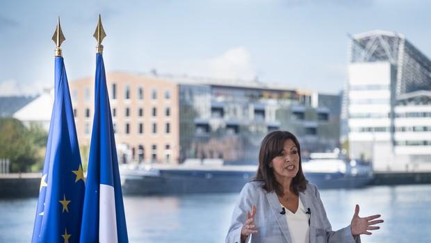 Pariška županja Anne Hidalgo napovedala tekmo za francosko predsednico (foto: profimedia)