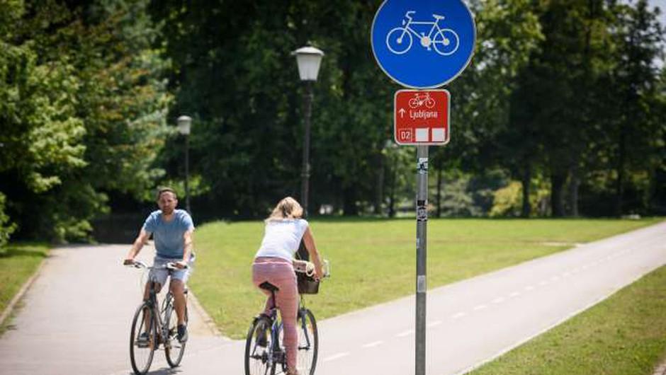 Evropska sredstva za skoraj 230 kilometrov kolesarskih povezav po Sloveniji (foto: Nebojša Tejić/STA)