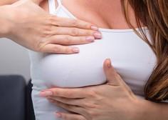 Rak na dojkah: kako se preveriti in kateri so najpogostejši simptomi