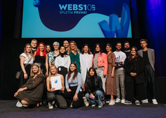Razglašene so jubilejne, 10. nagrade WEBSI za digitalne presežke v preteklem letu