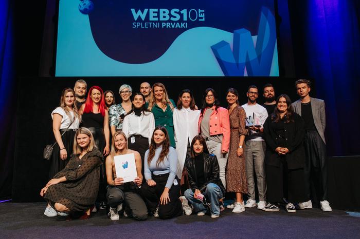 Razglašene so jubilejne, 10. nagrade WEBSI za digitalne presežke v preteklem letu (foto: Foto: Rok Mlinar)