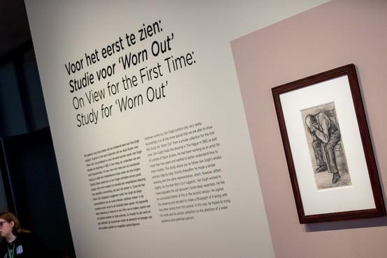 V Amsterdamu prvič na ogled na novo odkrita risba Vincenta van Gogha