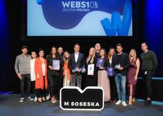 Mercator prejemnik več WEBSI nagrad