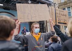 Šesterica mladih v Berlinu želi z gladovo stavko oblast spodbuditi k odločnemu podnebnemu ukrepanju