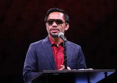 Sloviti filipinski boksar Manny Pacquiao kandidat za predsednika države