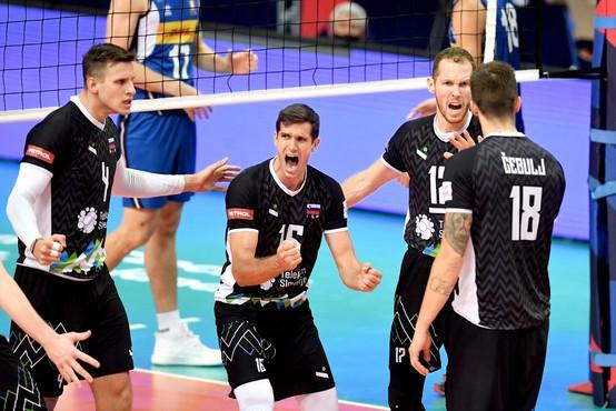 Slovenski odbojkarji se bodo z evropskega prvenstva tretjič vrnili s srebrom