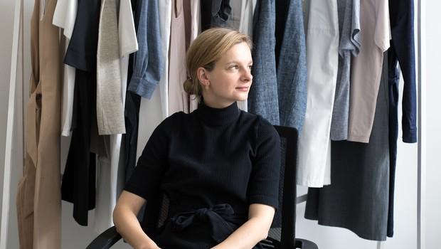 Ustanoviteljica in oblikovalka blagovne znamke Tina Logar Bauchmüller. (foto: Nika Koležnik)