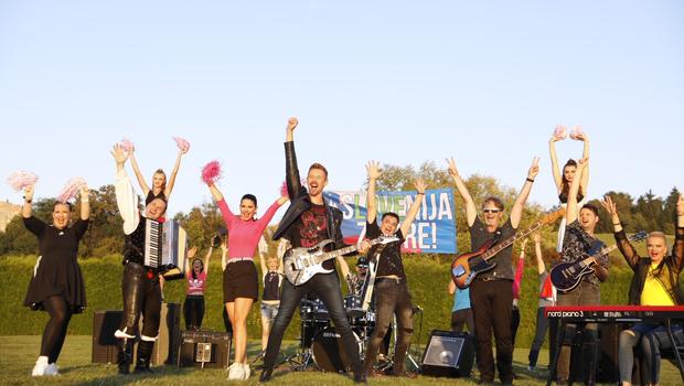 SoulGreg Artist pripravil udarno športno-navijaško pesem Slovenija zmore! (foto: MediaVibre)