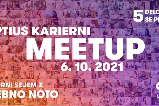 Odlična priložnost, če ste nezadovoljni na delovnem mestu in želite najti novo zaposlitev - Optius Karierni Meetup (preko Zooma)