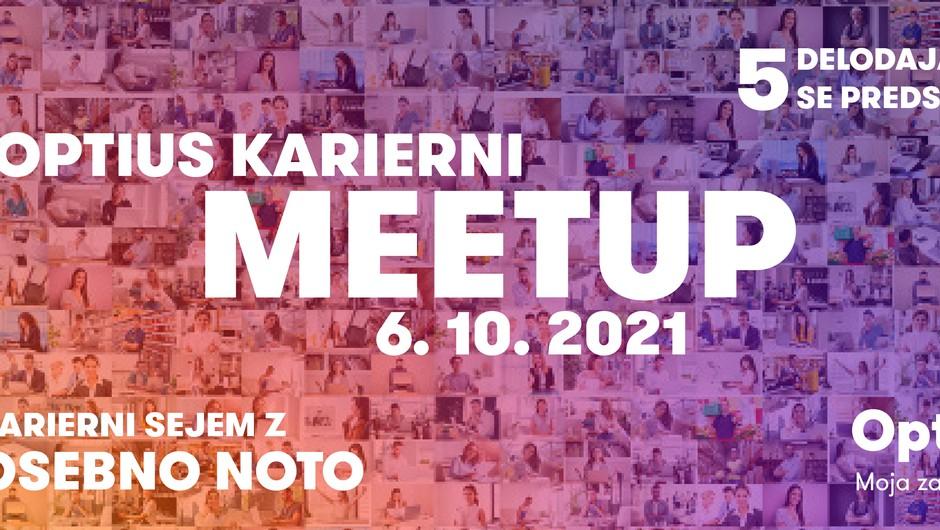 Odlična priložnost, če ste nezadovoljni na delovnem mestu in želite najti novo zaposlitev - Optius Karierni Meetup (preko Zooma) (foto: optius.com)
