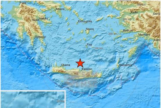 Močan potres na Kreti terjal smrtno žrtev in povzročil škodo