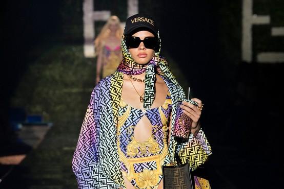 Tu je novo dizajnersko sodelovanje med znamkama Fendi in Versace