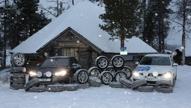 Zimske gume 2021/2022: Med manjšimi ni slabih, med večjimi previdno! (foto: AMZS)