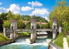 Škode po sredinem neurju v Ljubljani je samo na infrastrukturi za sto tisoč evrov