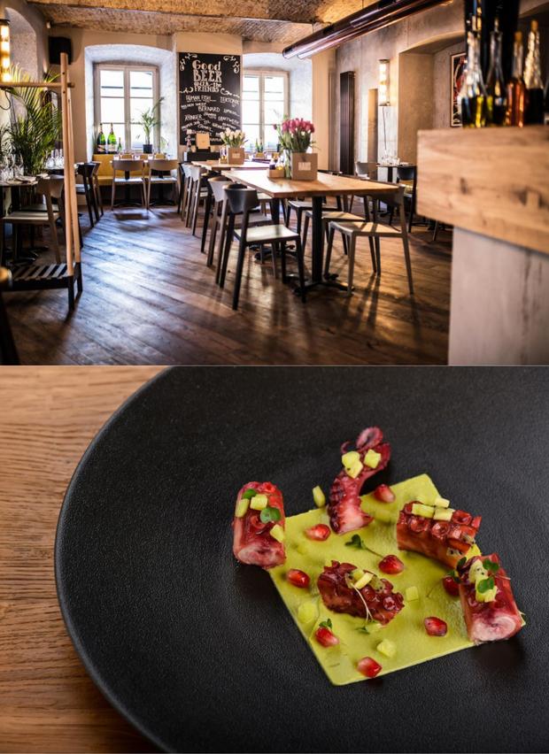 Restavracija Vander Ponujajo: moderno, urbano in z dizajnom Cena menija: 19 € Kje? Ljubljana