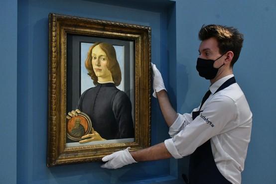 Botticellijev Človek žalosti na dražbi z izklicno ceno 40 milijonov dolarjev