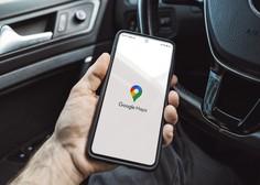 Na Googlovi aplikaciji Zemljevid voznikom na izbiro poti z najmanjšimi izpusti