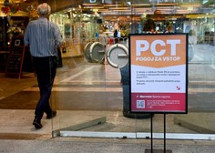 Zaradi PCT več kot polovica trgovcev z do 50-odstotnim upadom prometa