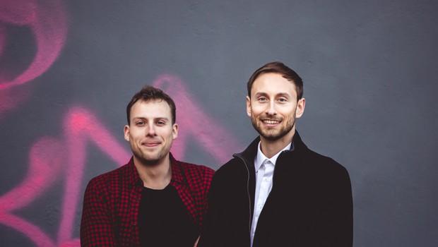 Aljaž Sahornik in Jakob Ferčec. (foto: Toni Konrad)