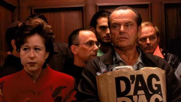 Jack Nicholson v filmu Bolje ne bo nikoli (As Good as it Gets) igra osrednji lik, ki trpi za obsesivno-kompulzivno motnjo (foto: profimedia)