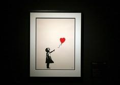Delno razrezano Banksyjevo delo prodano za 18,5 milijona funtov