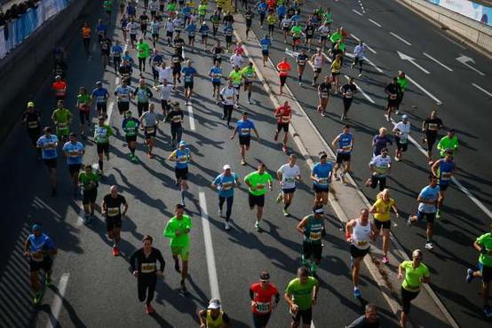 V nedeljo jubilejni 25. maraton v slovenski prestolnici