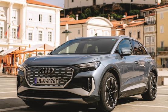 Zakaj vsi avtomobilisti danes govorijo o Audiju Q4 e-tron