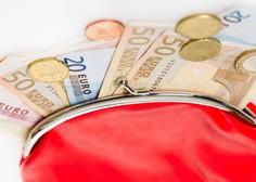 Avgustovska plača je bila v Sloveniji v povprečju nižja od julijske
