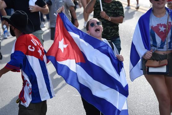 Deset let zapora za Kubanca, ki se je udeležil julijskega protesta proti vladi