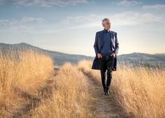 Pa smo ga le dočakali: Bocelli bo po petih letih spet nastopil pred slovenskim občinstvom
