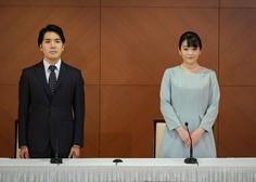 Japonska princesa Mako se je poročila z navadnim podanikom